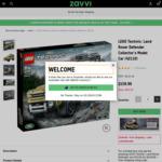 LEGO 42110 Defender US$149.99 (~A$196.95) Delivered & More @ Zavvi US