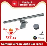 Yeelight Monitor Desk Lamp Std US$62.49 (~A$82.27) | Pro Version US$74.79 (~A$98.46) Delivered @ Yeelight Official AliExpress
