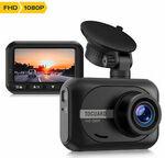 TOGUARD Mini Dash Cam Full HD 1080P $39.43 Delivered @ myzone50 eBay