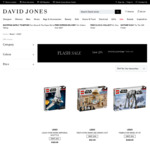20% off All Full Priced LEGO + Delivery ($0 with $50 Spend) @ David Jones (Online Only)