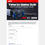 Win a Fanatec Podium F1 Wheel and CSL Elite Pedals from Formula 1