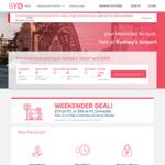 [NSW] Sydney Airport Parking: Weekend Getaway 4 Days: Blu Emu $40, Dom P3 $79, Dom P2 $99, Enter before 21/06/2021