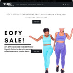 50% off Sitewide, Extra $10 off with Coupon + Free Express Shipping with $70 Spend @ THIQ Activewear