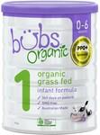 Bubs Organic Grass Fed Infant Formula 800g $9 (RRP $30) @ Big W