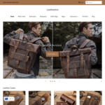 US$5 off Leather Bag Products (New Users Only), Free Shipping @ Leatheretro