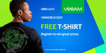 Free Veeam at VMWorld 2021 T-Shirt Delivered (Company Email Required) @ Veeam