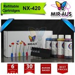 Refillable Ink Cartridges for Epson NX420 NX-420 73N / Was: 91.99 Now: $64.40