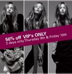 OJAY VIP 50% off clearance sale~