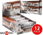 12x Musashi P20 Low Carb Protein Bars (Choc) 65g $14.98 + Delivery @ Grocery Run