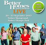 Draw for free double passes to Better Homes and Gardens Live Show SYD. Facebook Like needed