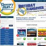 Grocery Run Half Price Shipping