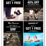 Rockport 2 for 1, Ben Sherman Extra 40% off @ True Alliance Brand Outlets (MEL, SYD, BRIS, AKL)