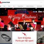 Earn 10x Qantas FF Points Per A $1 Spent on Qantas Gift Vouchers