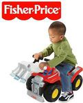 Fisher Price Big Action Fire Truck Ride-On $29.95 + Postage on Deals Direct RRP $79.95