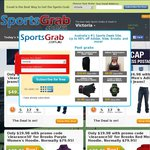 Adidas Wallets $2.49, Extra 50% off Everything, $9.95 Express Postage Cap @ Sports Grab