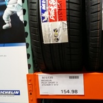 $154.98 Michelin PS3 215/45R17 Fitted and Balanced Costco Auburn (NSW) (Membership Required)