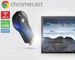 Google Chromecast - $34.99 Delivered ($24.99 with Referral Credit or $26.99 with Coupon) @ COTD