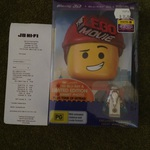 Lego Movie 3D/2D Blu-Ray with Emmet Photo and Lego Vitruvius $16 at JB HI FI Doncaster VIC