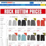 $1 on Selected Slazenger Shorts and T-Shirts (Juniors and Mens) @ Sports Direct