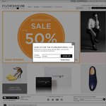 Florsheim - Selected Items up to 50% off + Free Shipping over $50