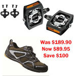 Shimano Shoes, Cleats and Clip-in Pedals- Urban Bike Now $89.95 Was $189.90 @ Salter Cycles Vic