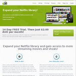 Access More Netflix Content for Just $12 for 12 Months - Netflix Launch Day Coupon @ Uflix