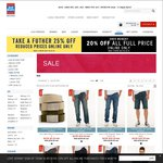Take a Further 25% off Reduced Prices Online Only Also 20% off All Full Priced Items @ Just Jeans