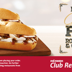 BOGOF Roast Chicken and Gravy Roll at Red Rooster