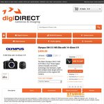 Olympus OMD E-M5 + 14-42mm @ digiDIRECT $499