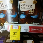 Coles Classics Coconut Rum 468ml Ice-Cream 4pk $1.60ea (Was $4) @ Coles [Waurn Ponds, VIC]