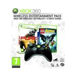 Pure, Lego Batman and the Official Xbox 360 Wireless Controller in Black $72 Delivered