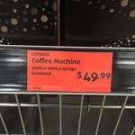 Aldi Darlinghurst NSW - Expressi Coffee Machine $49.99 instead of $79.99