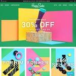 Happy Socks 30% off Plus Free Shipping