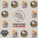 Schnitz Free Chips Day - All NSW Locations, March 31