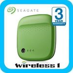Seagate 500GB Wireless Portable Hard Drive [5 Colours Available] $66.4 Delivered @ Wireless1 eBay