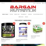 Bargain Nutrition - 5% off First 100 Orders
