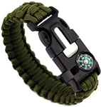 49% OFF Multifunctional Outdoor Survival Bracelet Paracord Survival Gear USD $1.29 (AUD $1.69) Shipped @Lightake