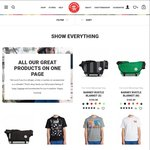 Crumpler 20% off Online and in-Store on Full Price Range for 4 Days @Crumpler