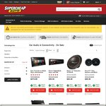 Supercheap Auto up to 50% off Sale on Range of Car Audio Products Eg. Kenwood 2 Channel Amplifier KAC-PS527 $74.49