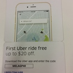 $20 off First Uber Ride (New Users)