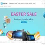"Receive Prepaid Visa Card for ""Easter Sale"" Via Redemption upon Purchase @ HP Australian Online Store"