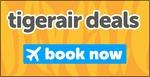 Tigerair Domestic Sale: Short Haul $33, Medium Haul $66, Long Haul $99 (Jetstar $30, $59, $89)