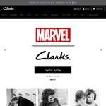 Clarks 40% off Full Priced Adults Shoes 48HRS Online Only