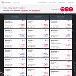 One Way Flights: Brisbane to Adelaide $119; Brisbane to Cairns $99; Canberra to Melbourne $99; Melbourne to Sydney $89 @ Virgin