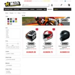 Motorcycle Helmet Shoei GT Air ($510) Delivered (Store: Fc-Moto.de)