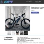Kupper Unicorn Premium Edition Pedelec $1500 (RRP $1695) Delivered @KUPPERBIKE