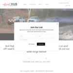 10% off Storewide Sale Continues at 4x4 Hub