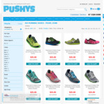 $25 Running Shoes (Were $199.95) - PEARL IZUMI @ PUSHYS (+ Delivery)