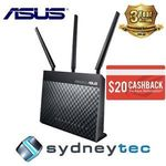 Asus DSL-AC68U $228 Delivered (Plus $20 EFTPOS Card via Redemption) @ Sydneytec eBay