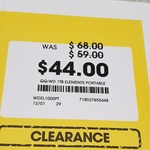 WD 1TB Elements Portable HDD - Clearance Item $44 @ Officeworks Belconnen ACT